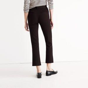 Madewell Cali black Demi- boot crop pant